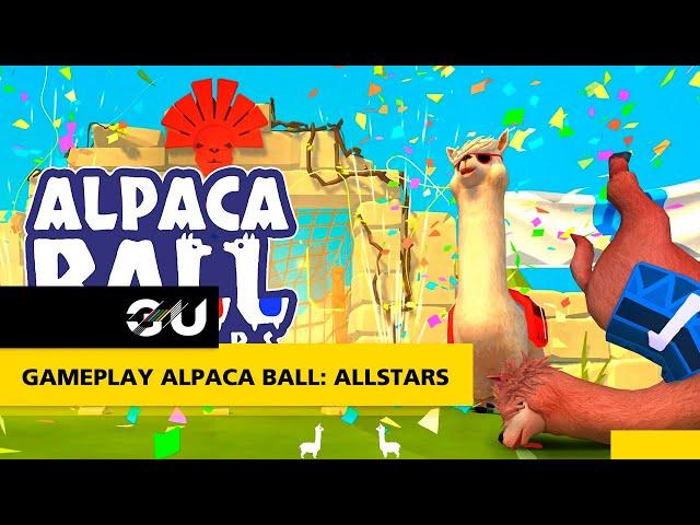 GAMEPLAY Alpaca Ball: Allstars