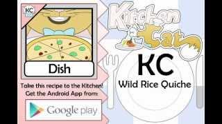 Wild Rice Quiche - Kitchen Cat