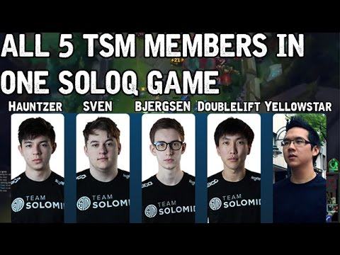 TSM all members soloqueue!
