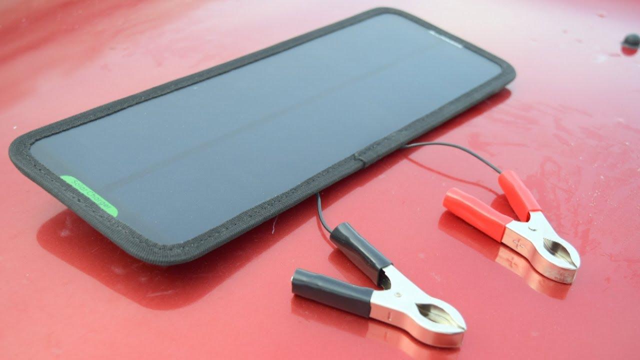 Зачем покупать новый аккумулятор если есть солнечная батарея! Недозарядка АКБ