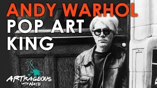 Andy Warhol Pop Art King