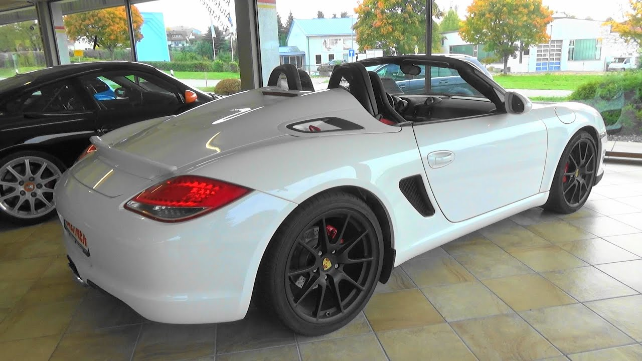 porsche boxster spyder 987 autohaus car dealer. Black Bedroom Furniture Sets. Home Design Ideas