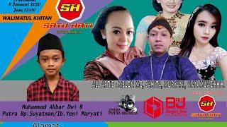 Live SATU HATI Entertainment - PUTRA ANGKASA Sound - BJ Live Walimatul Khitan Bg. Muh. Akbar Dwi R