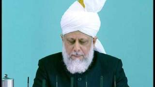 Friday Sermon : 2nd October 2009 - Part 3 (Urdu)