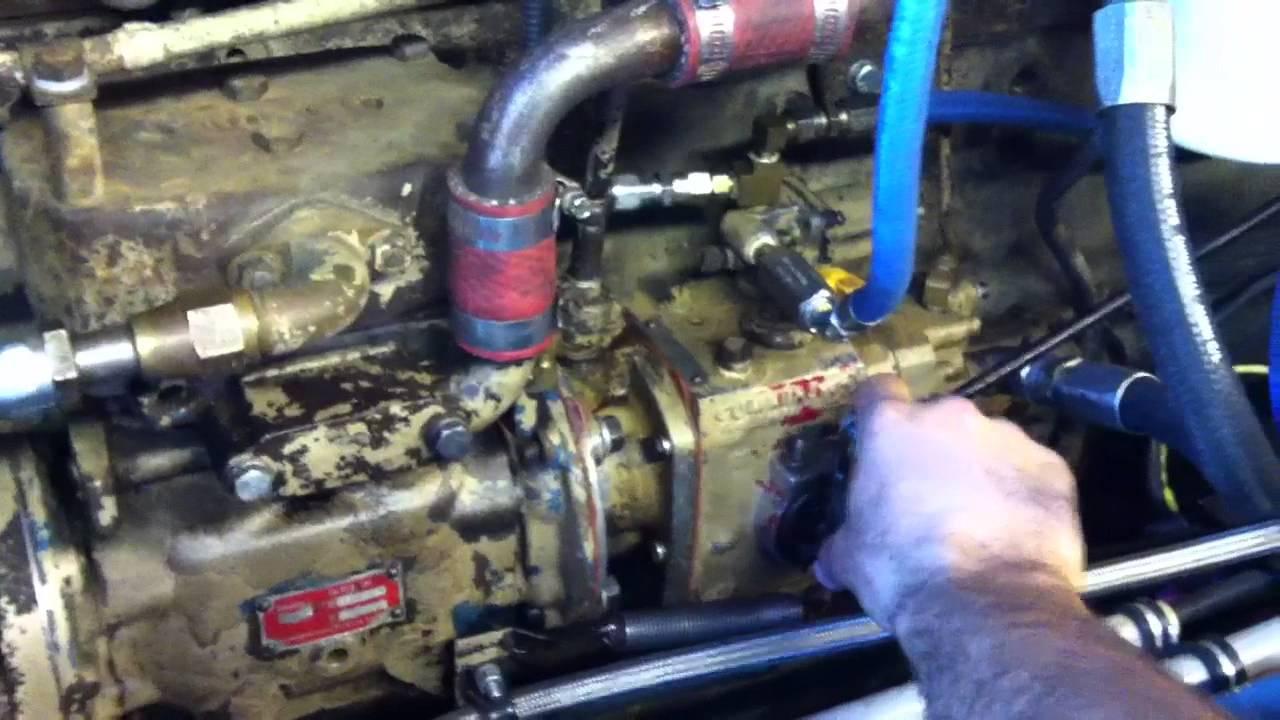Hot Rod 350 cummins small cam rev job
