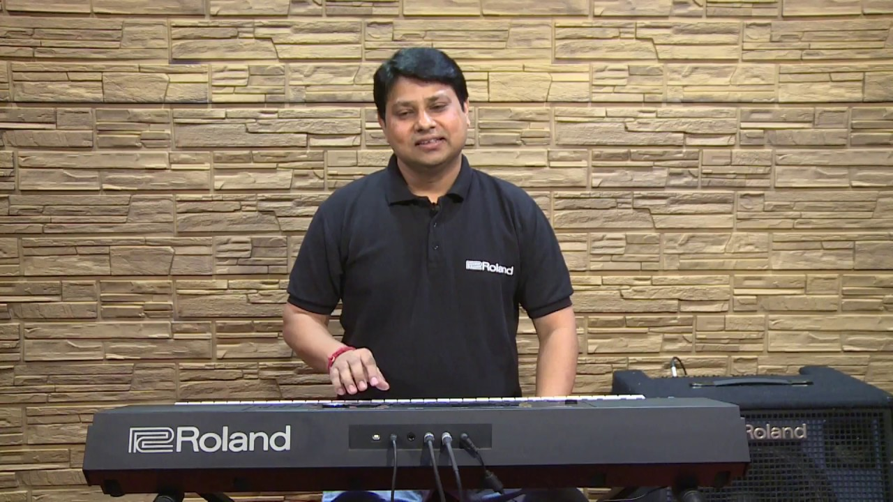Roland E-X20 Indian Rhythm Demo