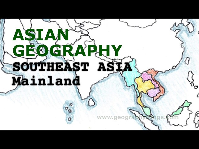 Asia Geography Song, Mainland Southeast Asia