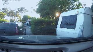 driving to camping milfontes