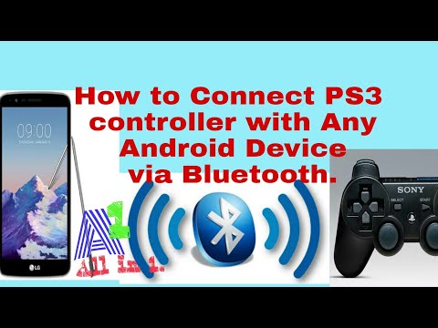 How to PAIR Playstation 3 Controller with Any Android Device