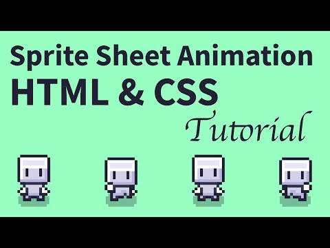 Sprite Sheet Animation Tutorial With HTML And CSS