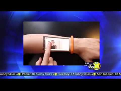 The Cicret Bracelet is getting California television!
