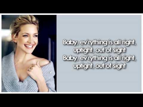Glee - Uptight (Everything's Alright) (Lyrics)