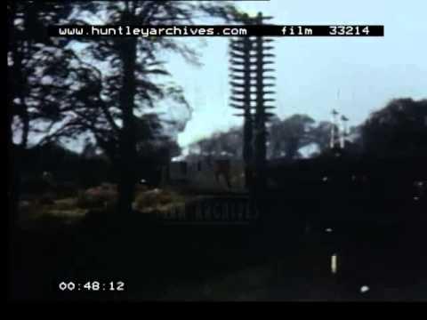 Nottingham Midland Station, 1950's - Film 33214