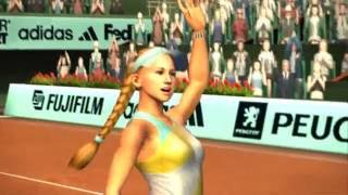 Smash Court Tennis Pro Tournament 2 PS2 PCSX2 60fps HD 2004