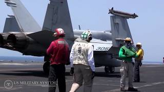 U.S. Navy F/A 18 fighter jet crashes into Philippine Sea - both pilots safe
