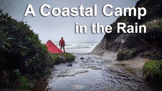 Oregon Coastal Day Cąmp in the Rain   Silent Film