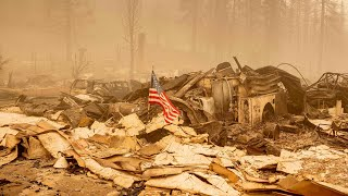 video: 'Like a war zone': Dixie wildfire in California grows to area larger than Los Angeles