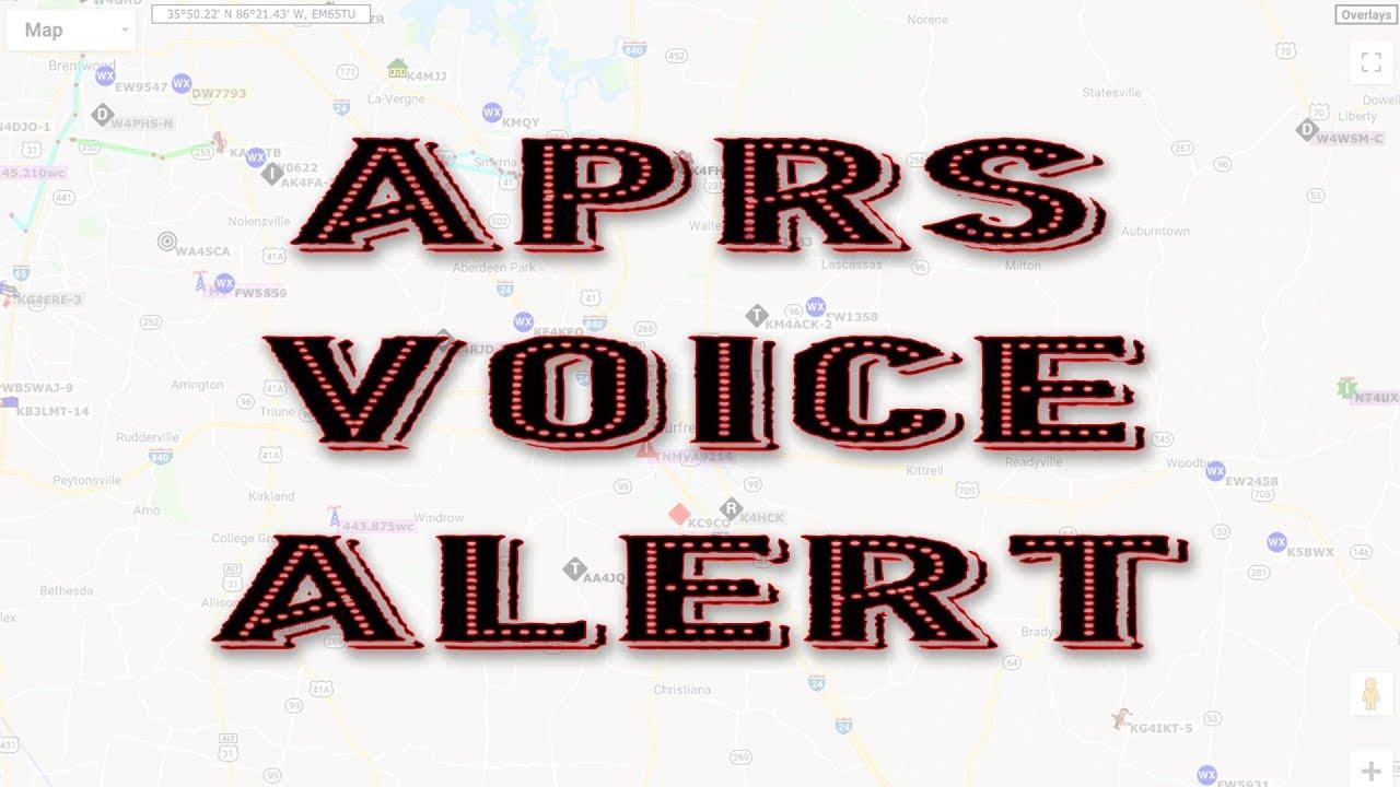 Download APRS Voice Alert