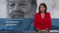 Bud Spencer (Carlo Pedersoli) TV Berichte zum Tod --German TV-- -28.06.2016-