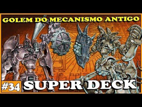 SUPER DECK GOLEM DO MECANISMO ANTIGO - Yu-Gi-Oh! Duel Links