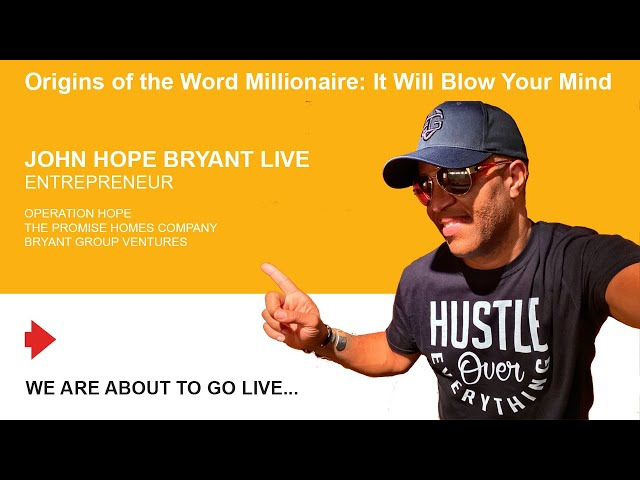 Origins of the Word Millionaire: It Will Blow Your Mind.