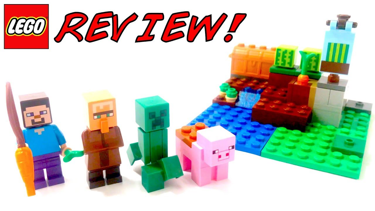Lego Minecraft The Melon Farm Building Toy