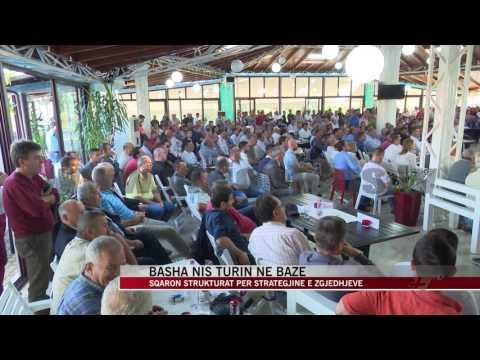 Basha nis turin me strukturat e partisë - News, Lajme - Vizion Plus