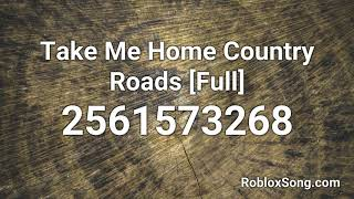 Take Me Home Country Roads [Full] Roblox ID - Music Code - *WORKING* 10 NCS ROBLOX MUSIC CODES/IDS!