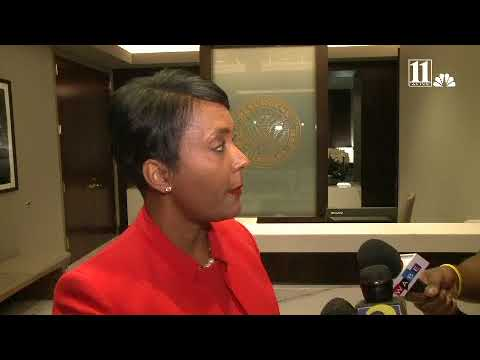 Atlanta Mayor Keisha Lance Bottoms discusses a variety of issues ahead of her 100th day