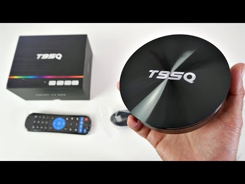 T95Q Android Oreo TV Box - S905X2 - 4+32GB - Under $55