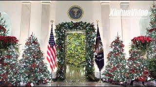 White House unveils 2020 Christmas decorations