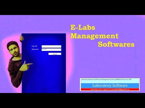 Clinical E-Laboratory Management Software (E-Labs, Medical Labs)