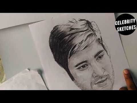 Drawing Mahesh Babu Timelapse Drawing ||CELEBRITY SKETCHES||