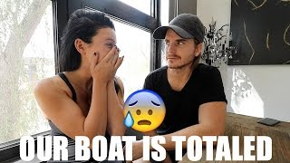 Our Boat Is Totaled! - Ep. 23 (Sailing Salty Mermaid)