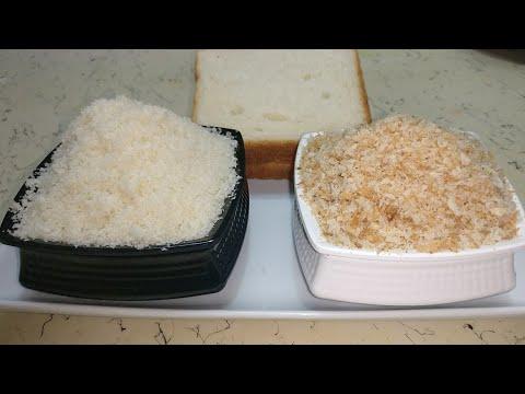 1 minute में बनाए fresh & dry bread crumbs | Homemade bread crumb recipe | basics of cooking |