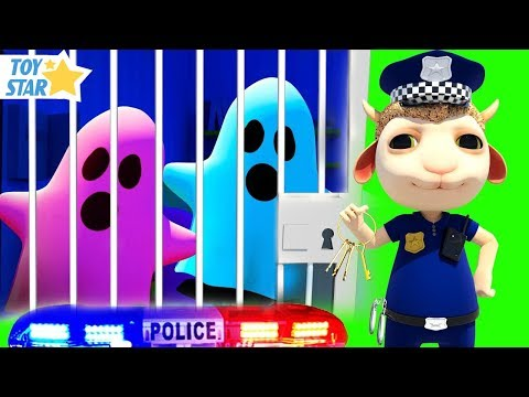 New 3D Cartoon For Kids 娄 Dolly And Friends 娄 Kids Police Jail Playhouse #98