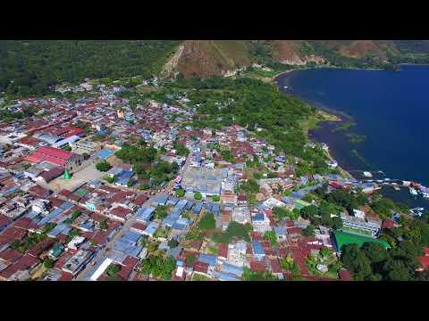 Lake Atitlan Guatemala via drone