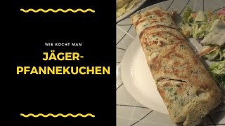 Jäger pancake prepare / cook - cooking studio simply cook