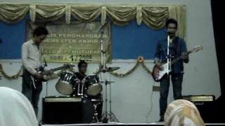 Labuan_Band_Santala-Time Is Running Out Cover