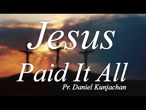 "Vespers: ""Jesus Paid It All"""