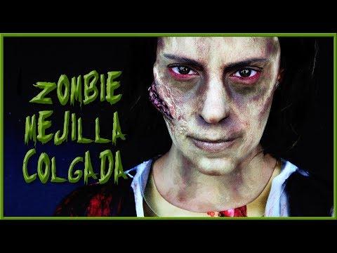Tutorial maquillaje Zombie con mejilla...