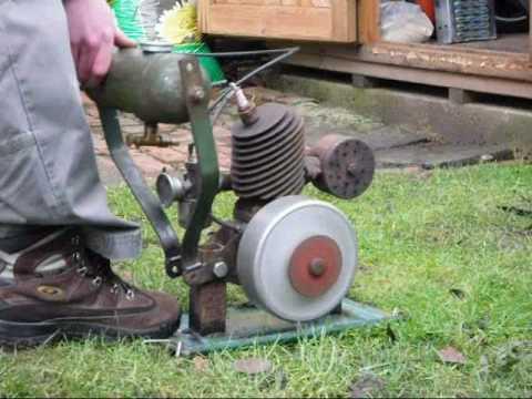 Atco Villiers Midget Two Stroke Engine 98cc 1955 Youtube