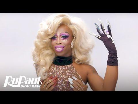 Monique Heart's 'Signature Lewk' Tutorial 💋    RuPaul's Drag Race Season 10
