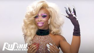 Monique Heart's 'Signature Lewk' Tutorial 💋  | RuPaul's Drag Race Season 10