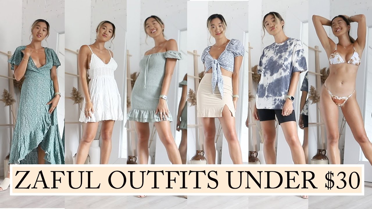 22 ZAFUL OUTFITS UNDER $30: Haul & Try On