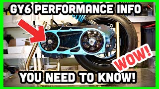 10 GY6 Performance Mods YOU MUST KNOW!