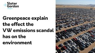 Greenpeace Explain The Effect The VW Emissions Scandal Has on The Environment