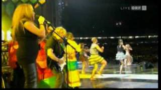 Waka Waka Shakira in 2010 FIFA WORLD CUP Kick-Off Celebration South Africa Johannesburg