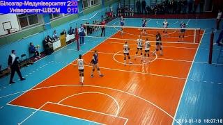 Суперліга - жінки, 9-й тур. «Білозгар-Медуніверситет» - «Університет-ШВСМ»