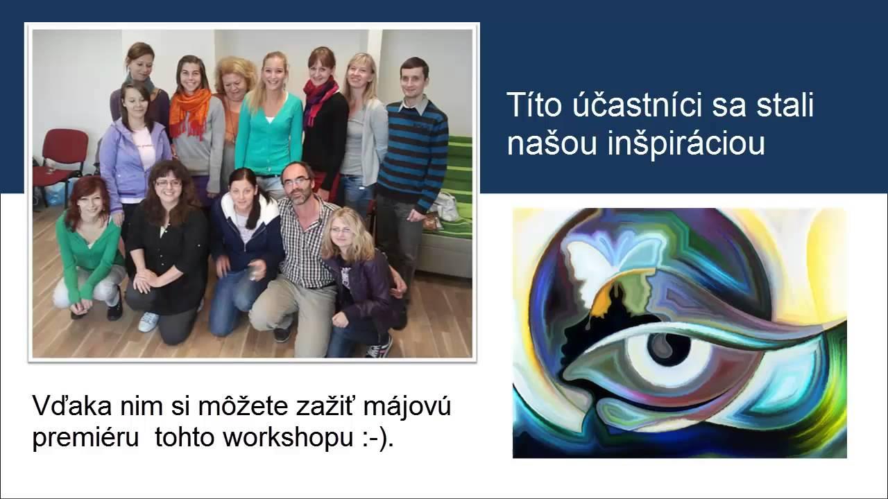 Workshop 2therapy Terapeuticka Praca So Snami Prostrednictvom